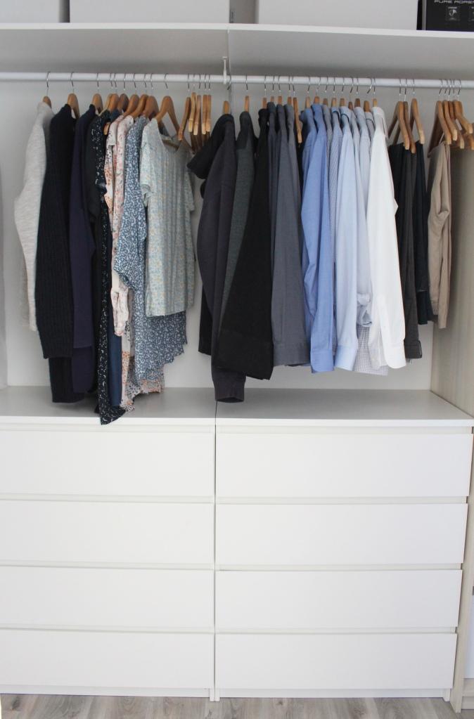 Garde-robe simplifiée